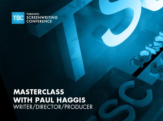 Masterclass with Paul Haggis